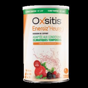 Boisson Energiz'heure adaptée aux conditions climatiques tempérées Fruits Rouges