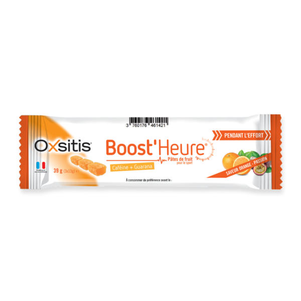 Pâtes de fruits Sport pendant effort passion orange Boost'heure