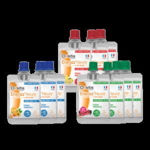 Pack 10 Gels Energiz'Heure multisaveurs