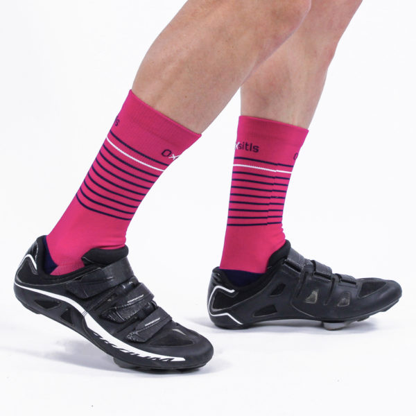 Chaussettes RC Rose
